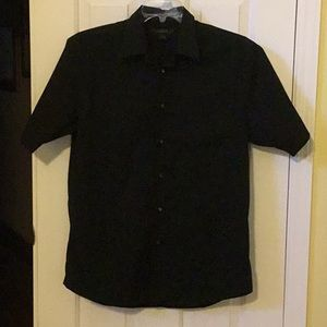 Men's Express Short Sleeve Dress Shirt
